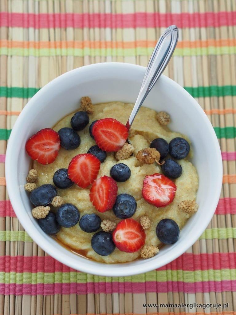 Budyń jaglany na śniadanie