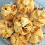 Francuskie ciasteczka z jabłkami